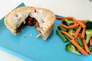 Linda McCartney pie