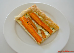 Baby carrot puff