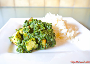 Cooking with Ma – Palak paneer