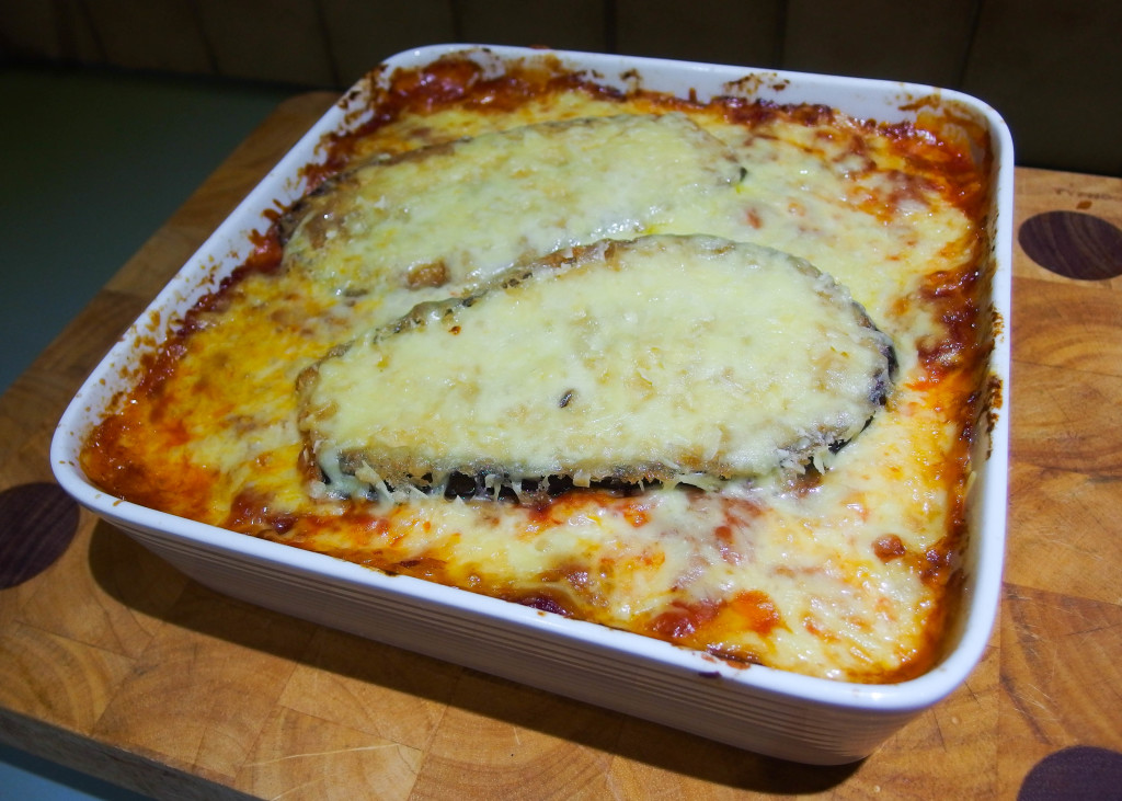 Baked eggplant parma