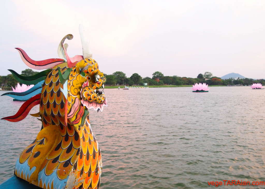 Boat ride on the Perfume River in Hue