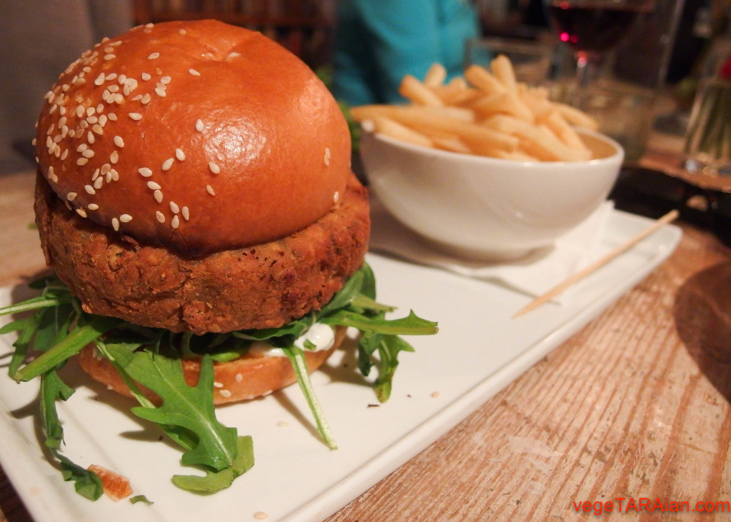 The Duck Inn, Chippendale - vegie burger