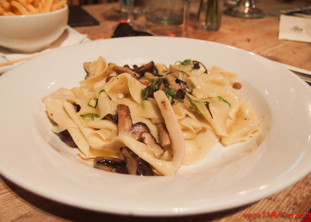 The Duck Inn, Chippendale - mixed mushroom pappardelle