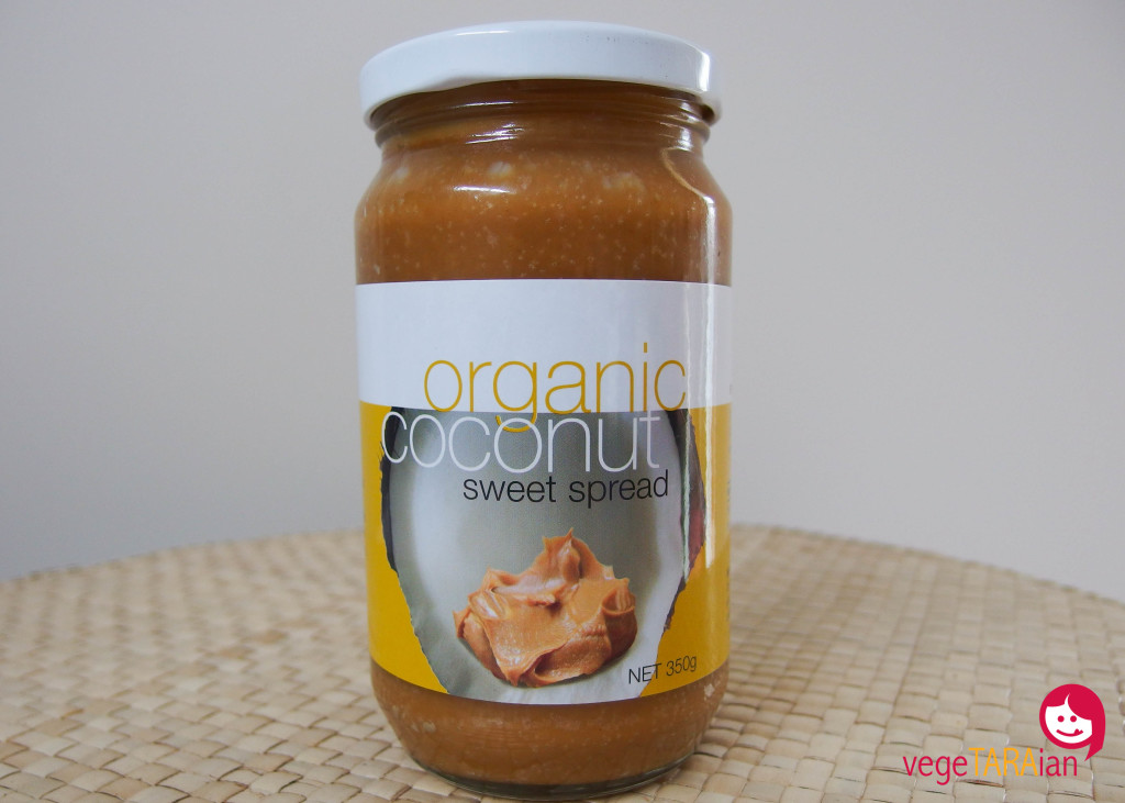 Spiral Foods organic coconut sweet spread