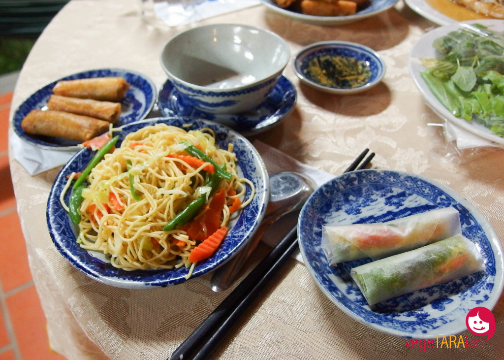 A home meal in the Mekong Delta