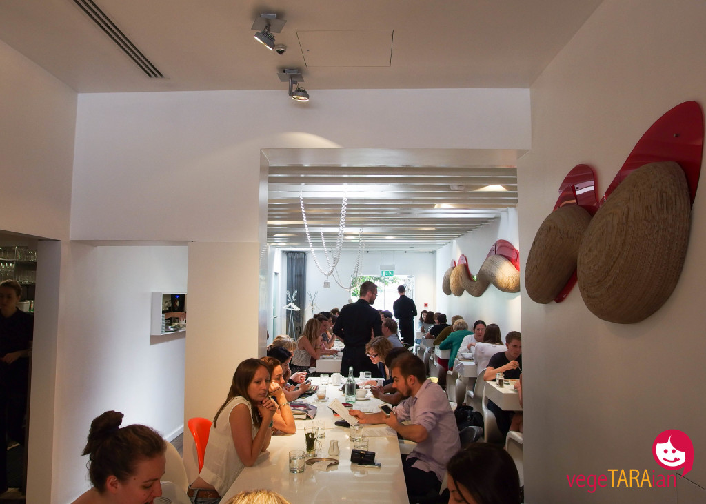Dining at Ottolenghi, Islington