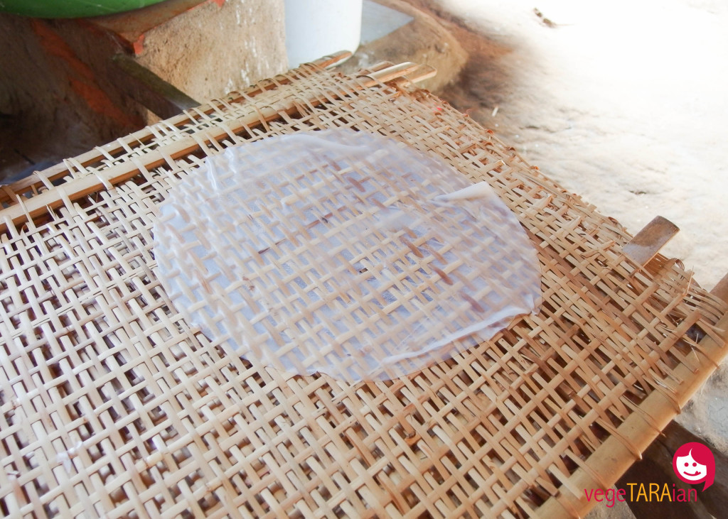 Rice paper in Ho Chi Minh City