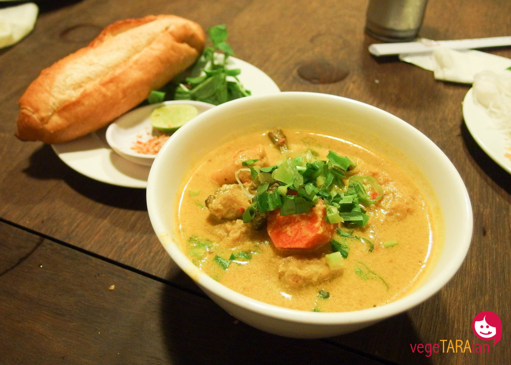 Veg curry in Ho Chi Minh City