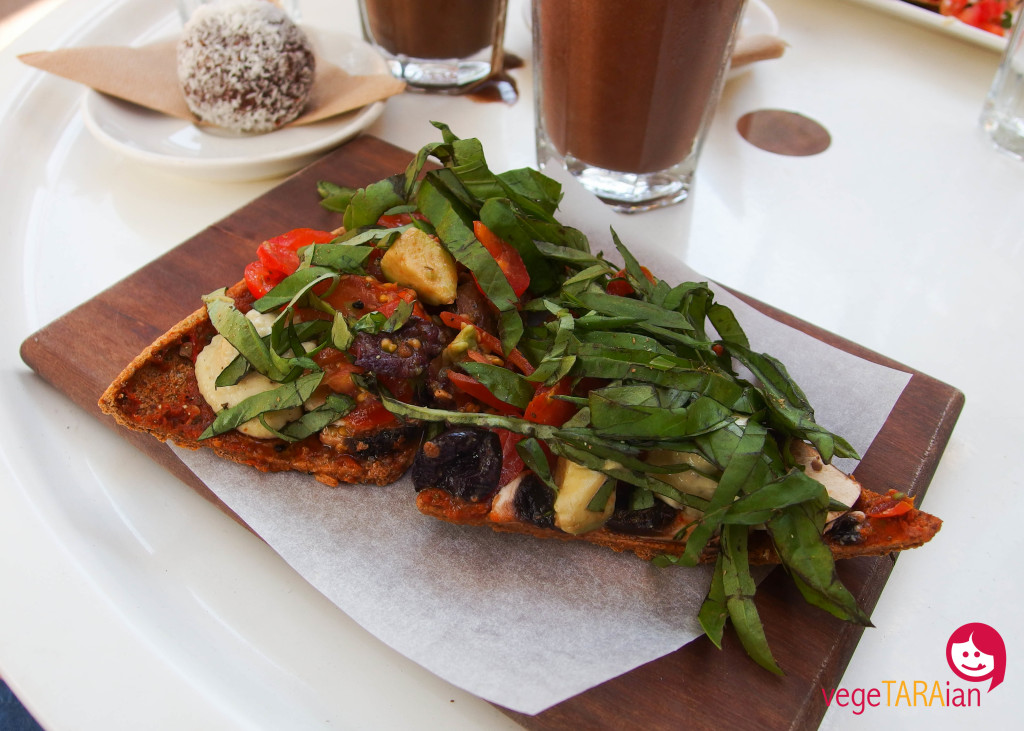 Pizza at The Raw Kitchen, Fremantle