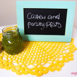 Cashew parsley pesto