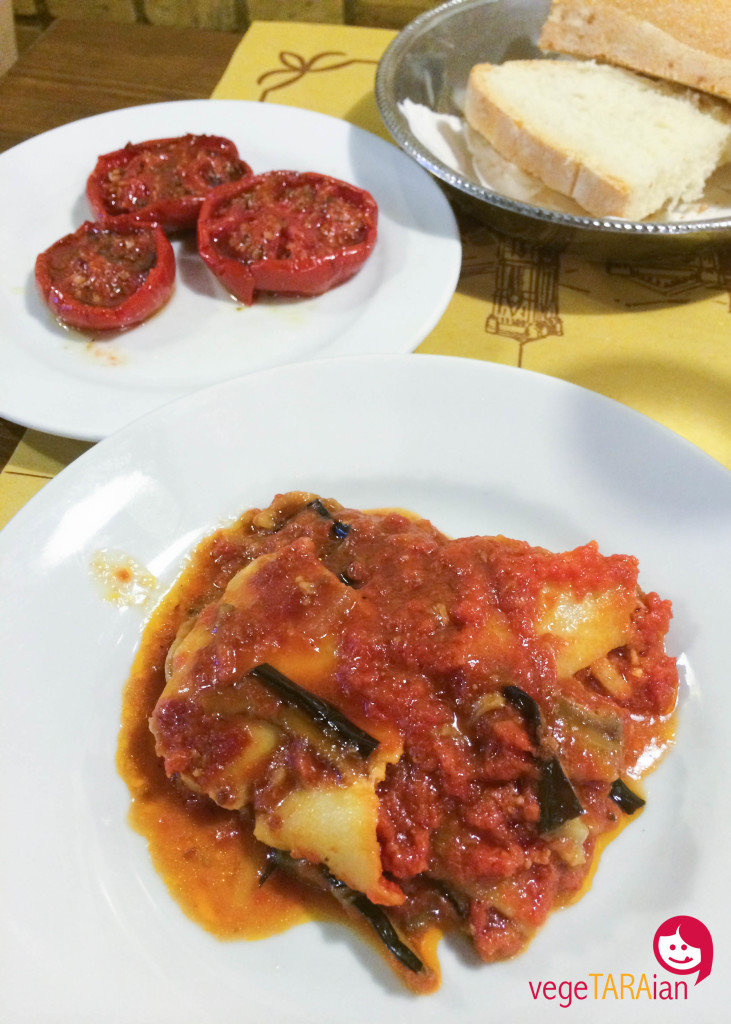 Eggplant parma in Florence