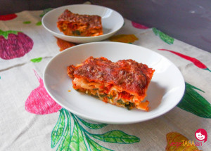 Roast pumpkin and spinach cannelloni