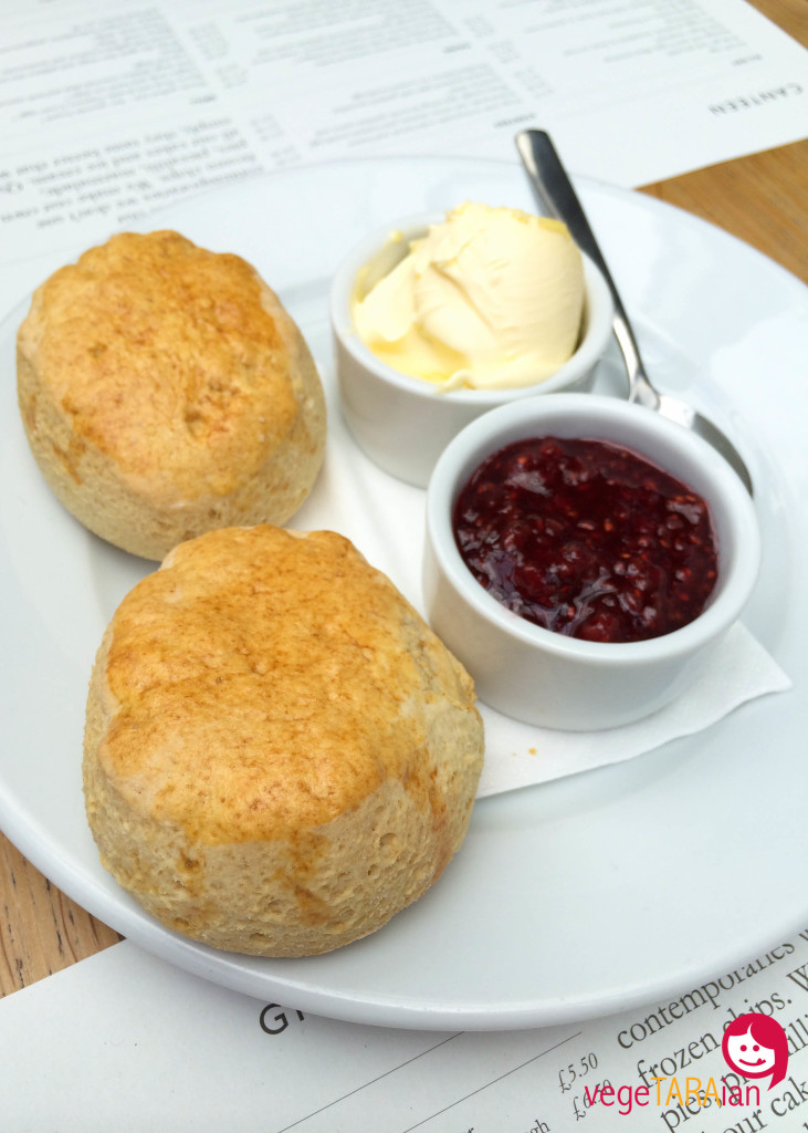 Scones at Canteen, Spitalfields