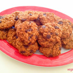 Choc chip ANZAC biscuits