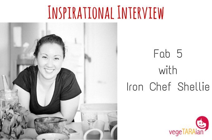 Inspirational Interview – Fab 5 with Iron Chef Shellie