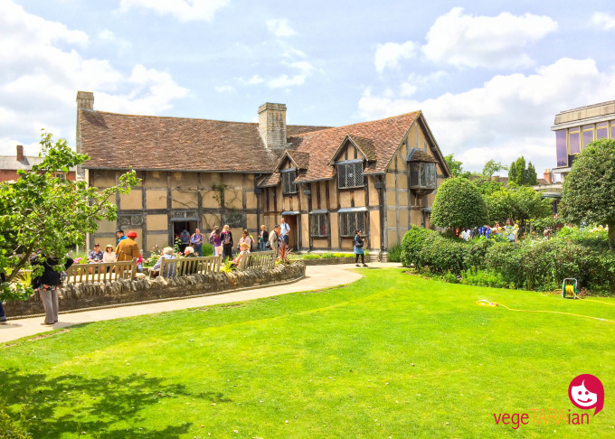 Shakespeare's home, Stratford upon Avon