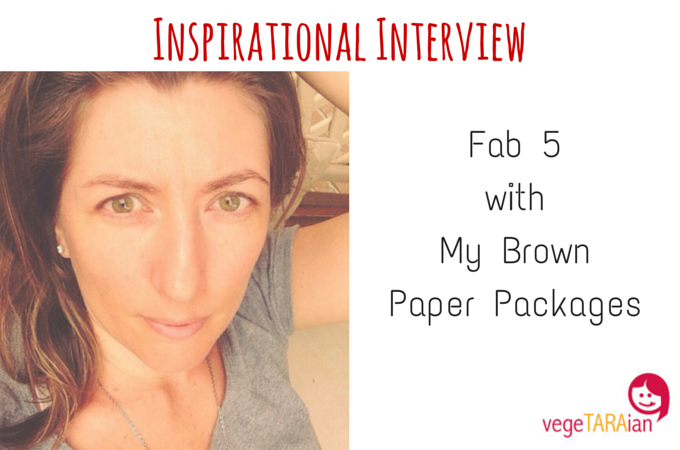 Inspirational Interview – Fab 5 with My Brown Paper Packages