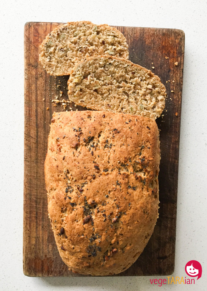 Wholemeal seeded bread