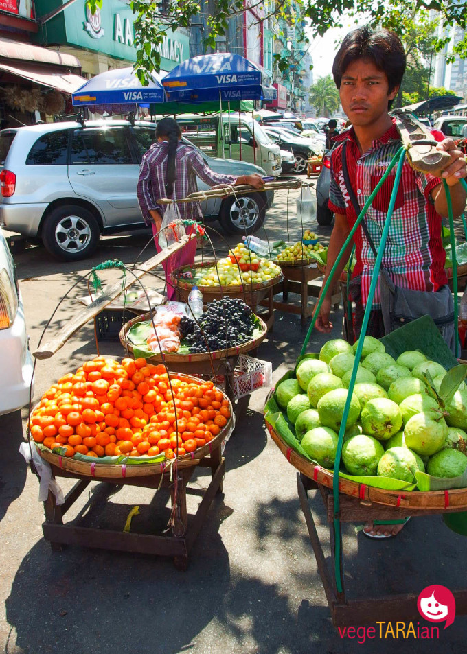 Yangon fruit
