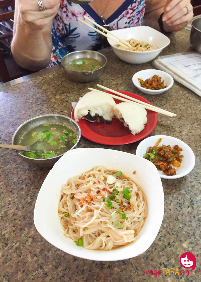 Yangon broth and noodles