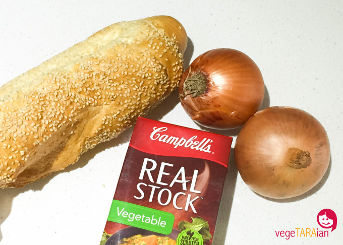 French onion soup ingredients