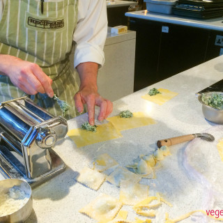 Recipease filled pasta class, Notting Hill