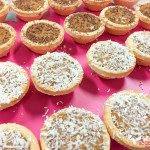 Banoffee tartlets