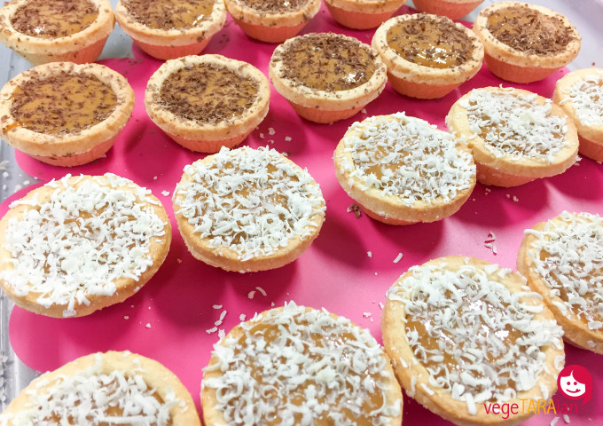 Easy assembly banoffee tartlets