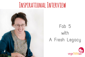 Inspirational Interview – Fab 5 with A Fresh Legacy
