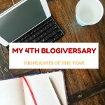 My 4th blogiversary