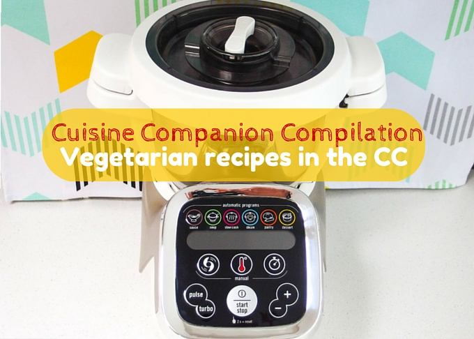 Compilation of vegetarian recipes in the Cuisine Companion