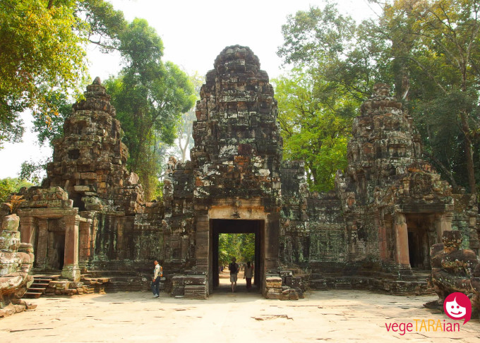The entrance to Preah Khan