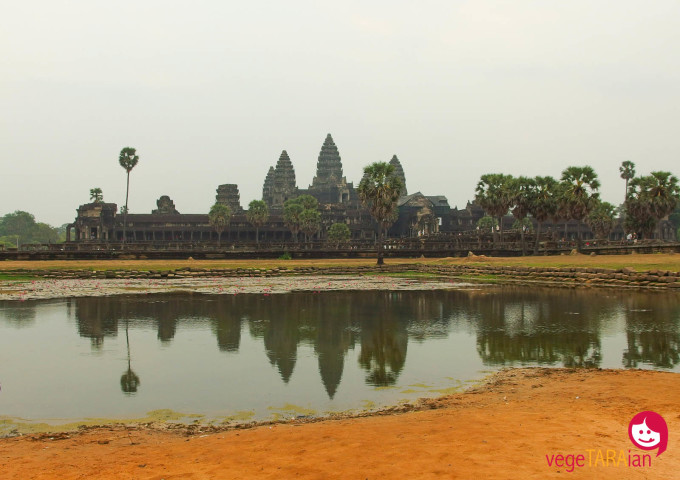 The ancient sites and temples of Angkor