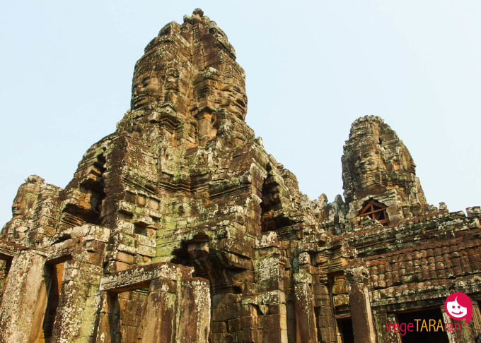 Some of the many faces at Bayon