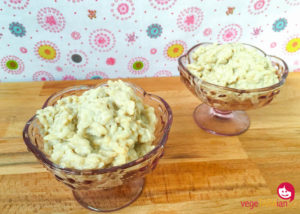 Dairy-free coconut and vanilla rice pudding
