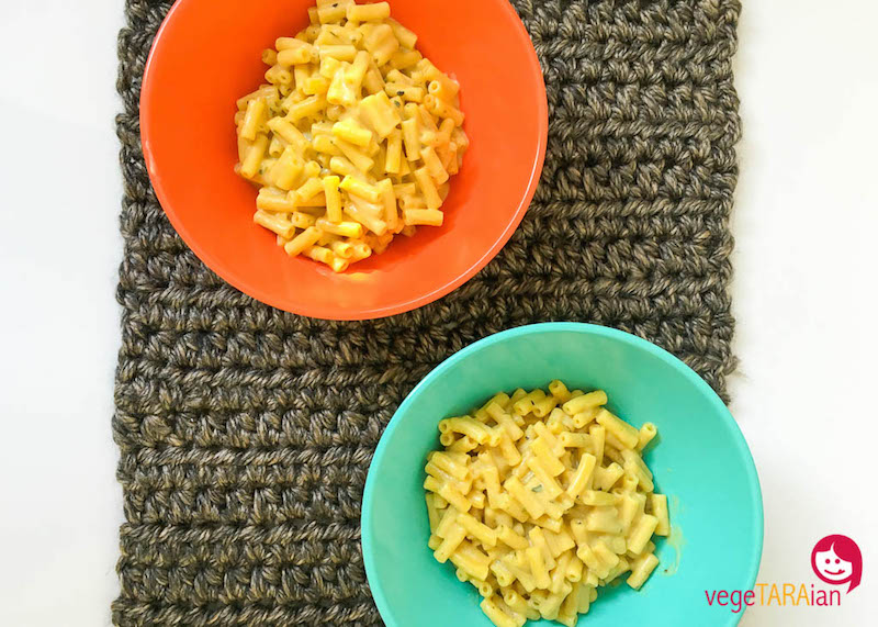 Cuisine Companion vegan mac cheese