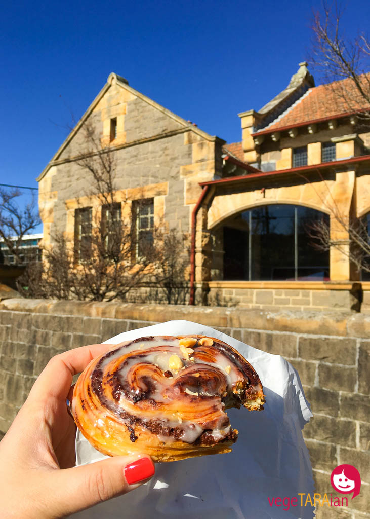 Nutella and hazelnut scroll from Gumnut Patisserie, Bowral