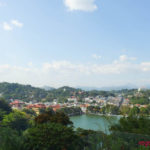 A view of Kandy from the hill