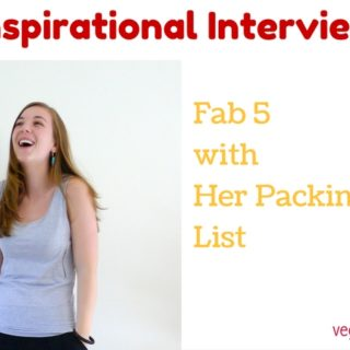 Fab 5 with Her Packing List