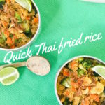 Quick Thai fried rice recipe
