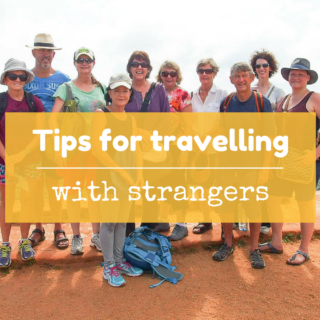 Tips for traveling with strangers