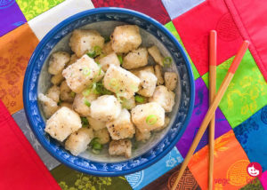 Crispy salt and pepper tofu