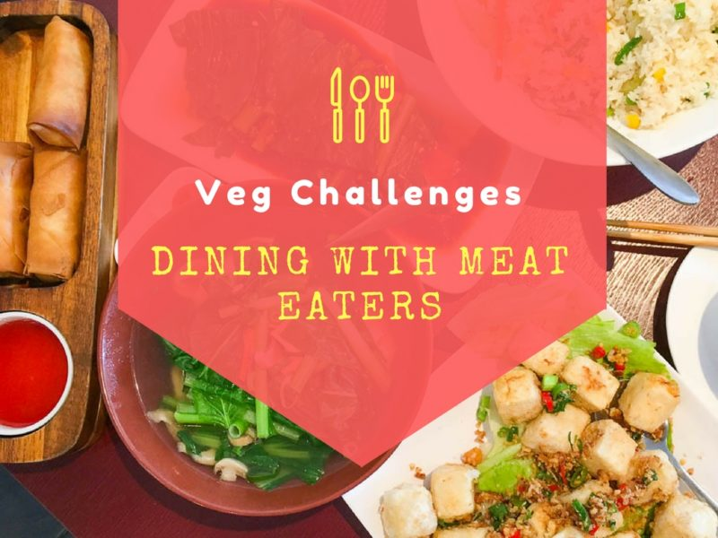 Vegetarian dining with meat eaters
