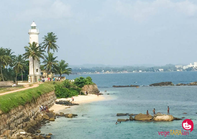 Exploring the historic sites of Galle