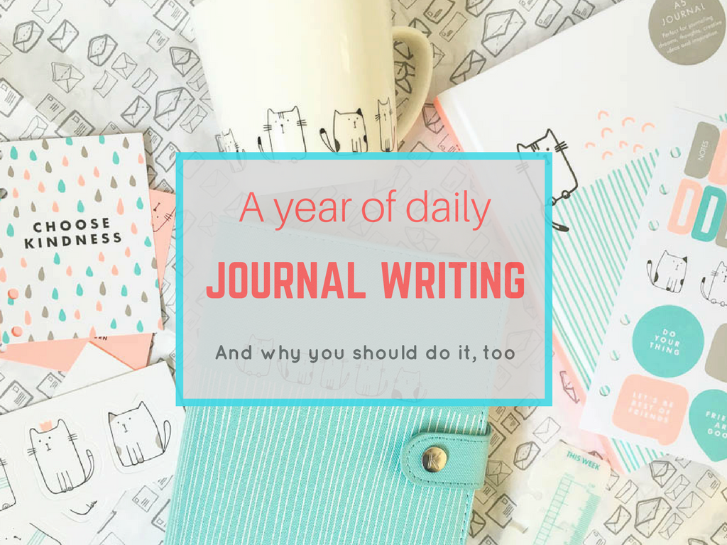 A year of daily journal writing