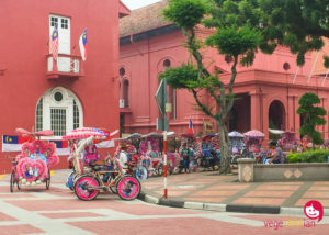 The sights and snacks of Melaka