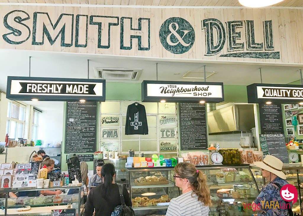Vegan eats at Smith & Deli, Fitzroy