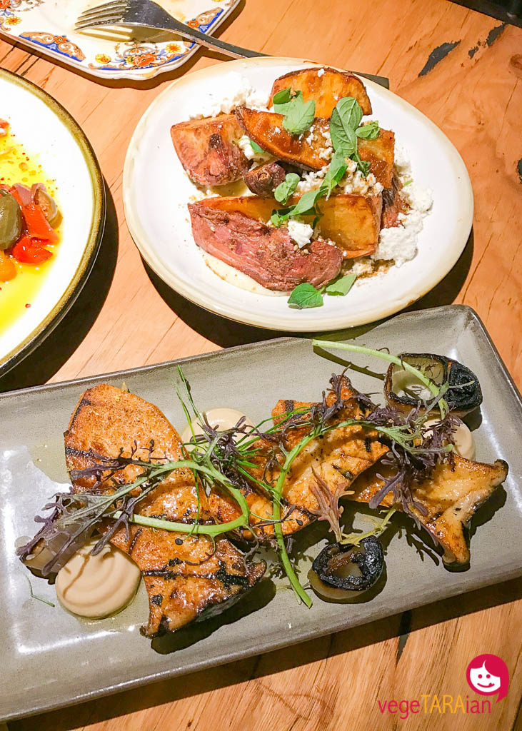 Vegetarian 'feed me' sharing plates at Transformer, Fitzroy