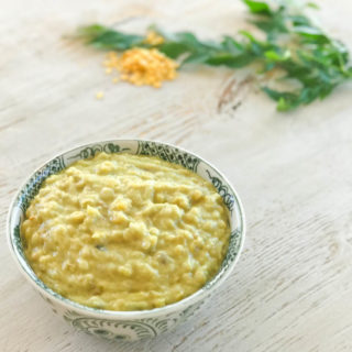 Creamy coconut dhal