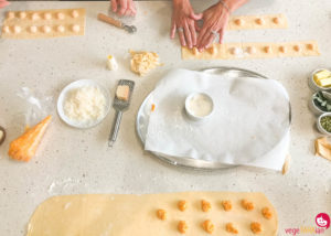 A Barilla pasta class and fresh ravioli